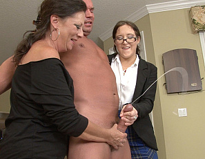 112919_sarah_two_clothed_female_jerk_off_nude_males_huge_cock_117_4